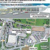 Behörden prüfen Merkur-Neubau in Rankweil