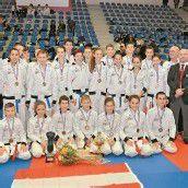 Ländle-Karatekas in Frankreich Dritte