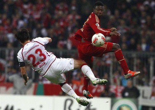 ÖFB-Teamspieler David Alaba spielte bei Bayern durch. Foto: reuters