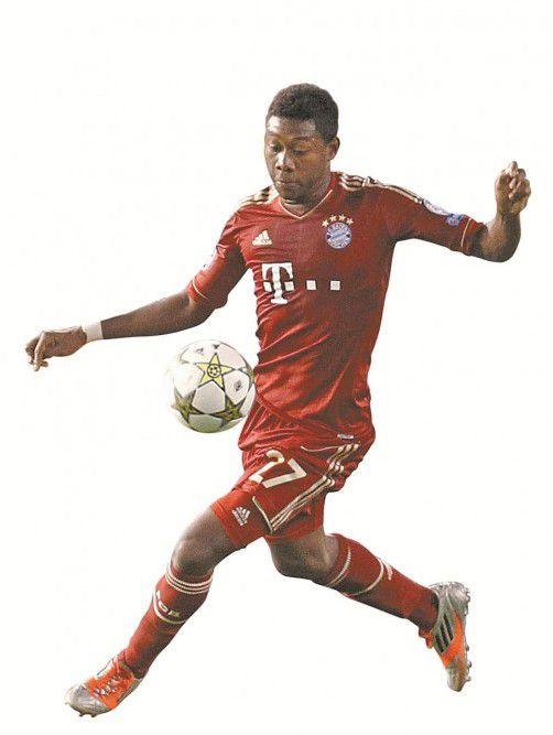 ÖFB-Teamspieler David Alaba spielte bei den Bayern durch. Foto: dapd