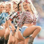 Nur die Cheerleaders sind gut drauf