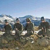 Marmotta Trophy 300 Soldaten im Hochgebirge /A10