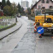 Wasserleitung in Feldkirch-Tisis ausgetauscht