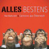 Karikaturenbuch mit Beiträgen von Raos