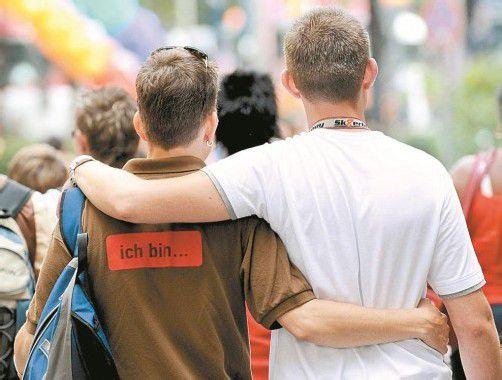 """""""Regelt"""" ein Gen die Homosexualität? Foto: Dpa"""