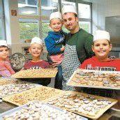 Kekse backen bei Mit Vätern unterwegs