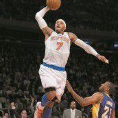 Knicks bleiben mit Sieg gegen Lakers Spitze