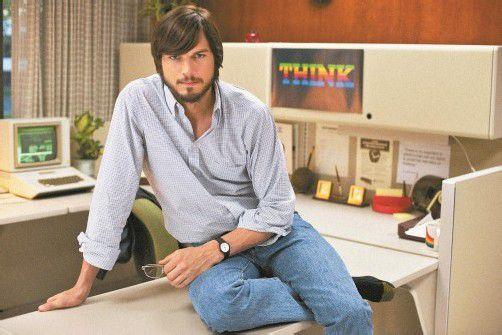 "Ashton Kutcher spielt den Visionär Steve Jobs in ""jOBS"", Premiere ist Mitte Jänner. Foto: dapd"
