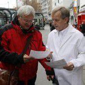 Ärzte gehen auf die Straßen