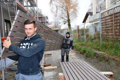 Auch im Winter stehen Vorarlbergs Baustellen nicht still. Foto: VN/Bem