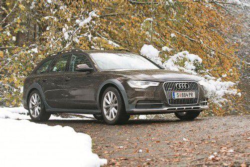 Audi A6 Allroad quattro: Perfekter Multifunktions-Allradler von starker Anziehungskraft. Fotos: VN/Steurer