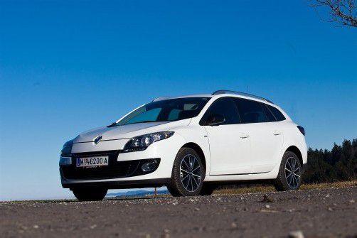 Ausgereifter Kompakt-Kombi: der aufgefrischte Renault Megane Grandtour. Fotos: VN/Steurer