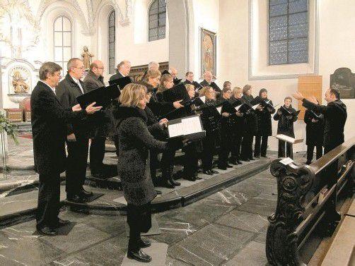 Basilikachor unter Benjamin Lack. Foto: Jurmann