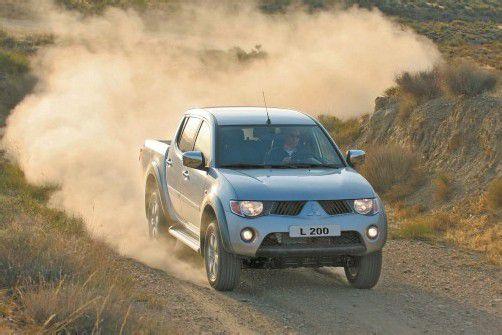 """Beim Mitsubishi L200 hat man nun die Wahl zwischen 136 und 178 PS. Für die Leser von """"Auto Bild Allrad"""" ist er der Pick-Up des Jahres – zum 13. Mal."""