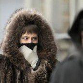 Bitterer Frost in Russland
