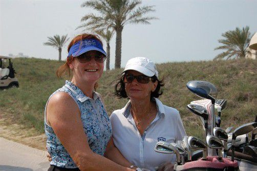 C-Gruppen-Siegerin Lisa Fischer (l.) mit Ingeborg Böhler. Foto: Muhr