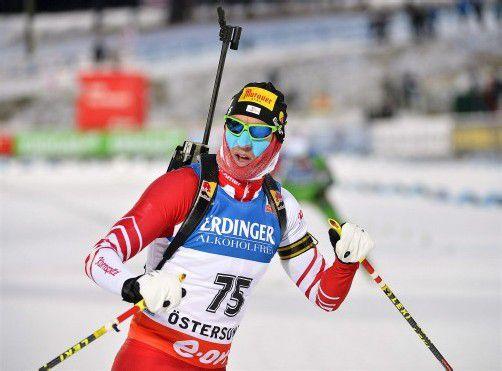 Christoph Sumann landete im Sprint auf Rang drei. Foto: reuters