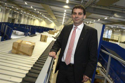 DI Peter Umundum ist Vorstand der Division Paket und Logistik bei der Post AG. Fotos: Stiplovsek