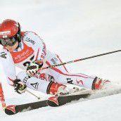 Daniel Meier schlug im Riesentorlauf wieder zu
