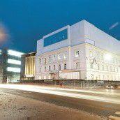 Theaterzentrum im Entstehen