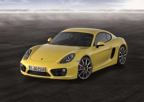 Den Porsche Cayman gibt es ab 59.880 Euro. Foto: werk
