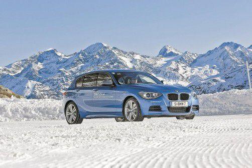 Der 1er ist das Volumensmodell von BMW in Österreich. Mit Allrad wird die Baureihe noch attraktiver. Fotos: werk