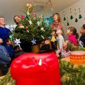 Bastelspass im Advent. Teil 18: Ein Rentier für den Christbaum