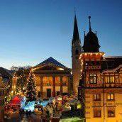 Weihnachtsstimmung am Marktplatz