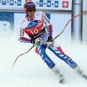 Adrien Theaux dominierte das erste Training auf der Stelvio in Bormio