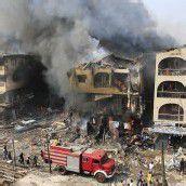 Lagos: Großbrand nach Explosion