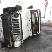 Autofahrer überschlug sich
