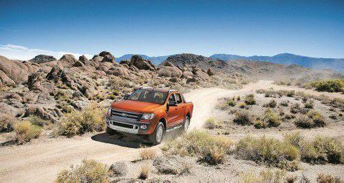 Der Ranger ist eines der Modelle, die Ford auf globale Anforderungen und Geschmäcker zugeschnitten hat.