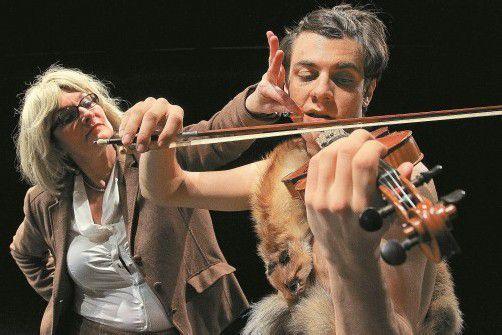 """Der Text zu """"Wir gründen eine Partei"""" stammt von der mehrfach ausgezeichneten österreichischen Dramatikerin Claudia Tondl. Foto: VN/Hofmeister"""