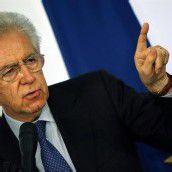 Monti erklärt sich bereit, Regierung zu führen