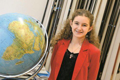 Die 13-jährige Nicole Schuster ist mit ihren Eltern schon weit herumgekommen. Foto: VN/Stiplovsek