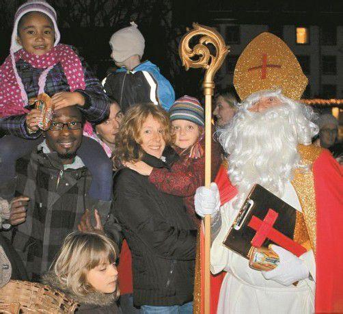 Die Ankunft des hl. Nikolaus um 16.30 Uhr ist natürlich der besondere Höhepunkt.