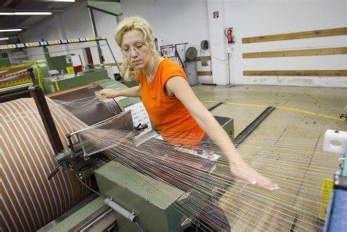 Getzner Textil ist eines der Unternehmen des Energieeffizienz-Netzwerks Vorarlberg. Foto: VN/Hartinger