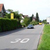 Kapfstraße in Gisingen künftig mit Tempo 40