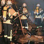 Papierlager brannte