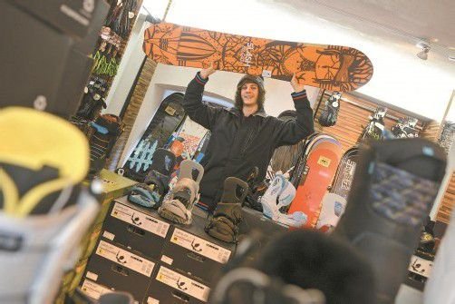 Die Fröhlichkeit steht Marco Esposito ins Gesicht geschrieben. Der 18-jährige Altacher macht neben der Lehre noch die Matura. FOTOS: VN/STIPLOVSEK