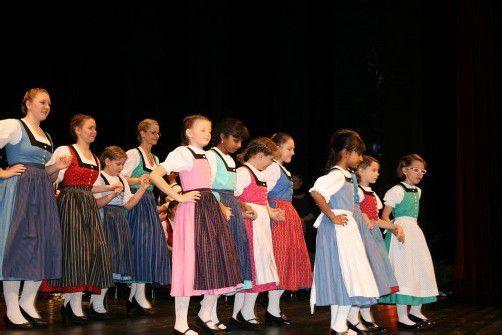 Die Gäste aus Lustenau auf der Bühne des Dornbirner Kulturhauses.  Foto: VN/Hagen