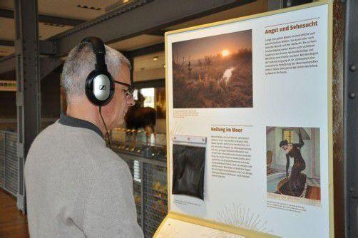 """Die Sonderausstellung """"Moore – bedrohte Kleinode in unserer Landschaft"""" kann bis 17. Februar in der Dornbirner inatura besucht werden. FOTO: inatura"""