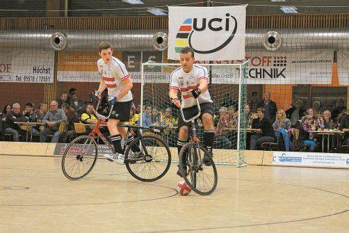 Die Vizeweltmeister Patrick Schnetzer (l.) und Dietmar Schneider konnten drei Qualifikationsturniere für sich entscheiden. Foto: schwämmle