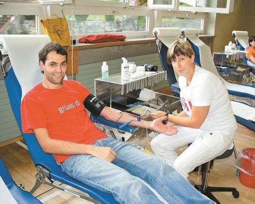 Die Vorarlberger bluten gerne, damit andere gerettet werden können. foto: tHE