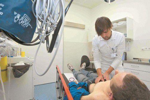 Die Ärzte wollen nicht nur behandeln, sondern ihre Interessen in der Gesundheitsreform auch mitverhandeln.  Foto: VN/Paulitsch