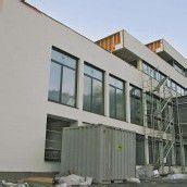 Bauarbeiten bei Pfarrheim voll im Zeitplan