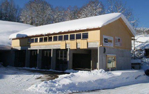 Die geplanten Gesamtbaukosten für das neue Feuerwehrhaus in Schwarzenberg belaufen sich auf 1.050.000 Euro.