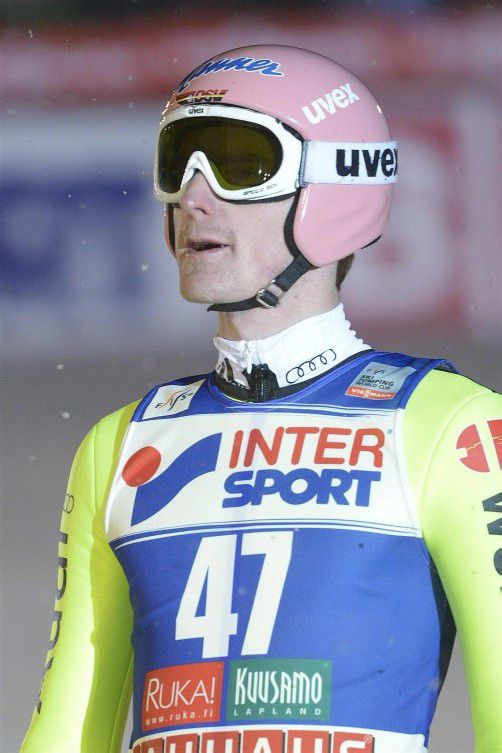 Dominierte nach Lillehammer nun auch in Kuusamo: Der Deutsche Severin Freund übernahm die Gesamtführung im Weltcup.