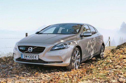 Edel, unaufgeregt und luxuriös: Volvo bringt mit dem V40 eine zeitlose Schönheit auf den Markt. Fotos: VN/Dünser