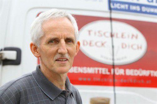 Elmar Stüttler kennt Not mitten im Land. Foto: VN/Hofmeister
